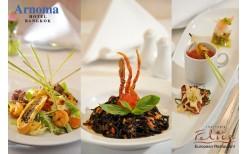 """พิเศษเพียง 205 บาท ให้คุณอิ่มไม่อั้นกับพาสต้า+พิซซ่าสไตล์อิตาเลี่ยนขนานแท้รสเลิศช่วงกลางวัน พร้อมซุป สลัดและของหวานแสนอร่อย ที่ห้องอาหารอิตาเลี่ยนสุดหรู """"Trattoria Felice """" @ Arnoma Hotel Bangkok (จากราคาปกติ 411 บาท)"""