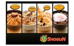 """พิเศษ 145 บาท! ให้คุณมาสัมผัสความอร่อยกับอาหารญี่ปุ่นสไตร์ดงบุริ แบบมีเอกลักษณ์เฉพาะตัวเฉกเช่นเดียวกับเจ้าของร้าน ที่มีนามว่า  """"เป้  อารักษ์""""  ที่ """"Shogun  Donburi""""  - ฺBTS อนุสาวรีย์ @Center  One (จากมูลค่า 300 บาท)"""