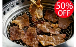 Special Offer! Only 110BHT for various delicious Japanese style grilling menus from the top class quality in a stylish atmosphere at Gyukoku @ CDC (from the price of 220BHT)