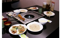 """Special of only 190BHT! for you to enjoy endlessly with the buffet of mixed Japanese breaded fried food (Kushiage) at the genuine Japanese restaurant, """"Bekku Buffet"""" (Valued at 399BHT)"""