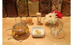 """Only 90BHT! for you to drink herbal tea + Korean style rice cake for your skin health at """"Herb Story"""", Thonglo (from the price of 180BHT)"""