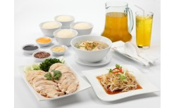 """Special offer of 57BHT for you to enjoy with the newest menu, """"Steamed Chicken in Hong Kong Soy Sauce"""" at the original chicken and rice restaurant, """"Orchard"""" (from the original price of 113BHT)"""