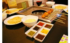 Special of only 199BHT! for you to enjoy endlessly with the buffet of mixed Japanese breaded fried food (Kushiage Buffet) at the genuine Japanese restaurant, Kushiage Bekku @ Sukhumvit 22 (Valued at 399BHT)