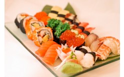 150 BHT only!!  for you to enjoy a variety of fresh sushi in kaiten-style dining at Sushi Boy , Park Town in Town branch (Valued at 300 BHT)