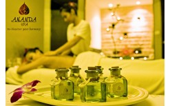 """Only!! 595 BHT Relaxing with Coffee or  Sugar Body Scrub +   Aroma therapy massage 90 minutes  at  """" Ananda Spa"""", Sukhumvit 24 (Valued 1,450 BHT)"""