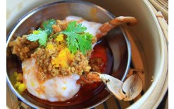 """Delicious!!! Only 199BHT! for 1 of the 2 delicious premium Dimsum Set menus that you can choose at the food hall, """"The Deck"""" @ M2 De Bangkok Hotel (from the price of 400BHT)"""