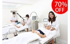 """Special ฿ 900, the face treatment, the brightening in white of Korean style. By well-known clinic at Siam Square,""""Naravee Clinic"""" ( from normal price ฿ 3,000 )"""