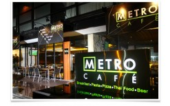 Special Offer! The extraordinary American-Thai meal just for the price of 240b originally 480b. At, the New York-style Cafe, Metro Cafe.