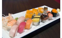 """Special offer of just 99BHT for you to enjoy a splendid fusion style Japanese food from the hands of the supreme level chef at the new trendy Japanese restaurant in the heart of Siam Square """"Izuya"""" (from the original price of 200BHT)"""