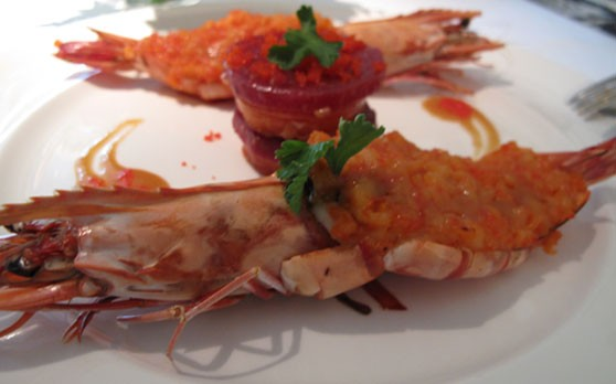 2. Grilled Tiger Prawn