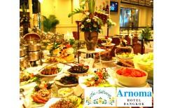 """たった250バーツ!Arnoma Hotel高級フードホール""""The Butter Cup""""80種類以上のメニューが揃うインターナショナルビュッフェをご賞味下さい。(通常価格580バーツ)"""